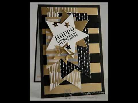 diy new year cards ideas