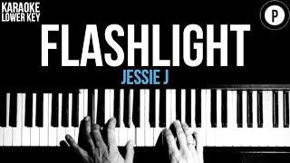 Download lagu Jessie J - Flashlight Karaoke SLOWER Acoustic Piano Instrumental Cover Lyrics LOWER KEY
