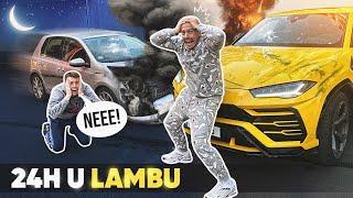PROVEO SAM 24h U LAMBU - SUDARILI SE! *šteta 30.000€*