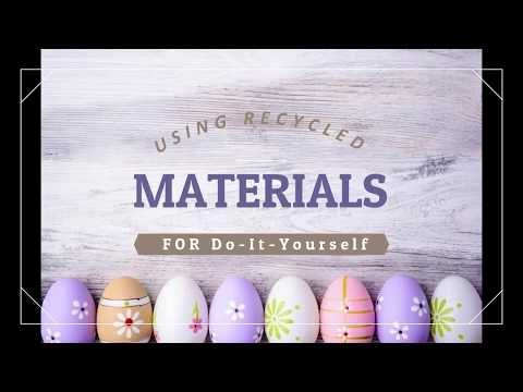 DIY crafts you can do with RECYCLED materials :)