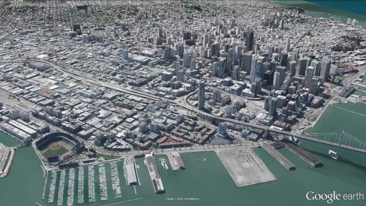 New 3d imagery of san francisco in google earth 7 youtube gumiabroncs Image collections