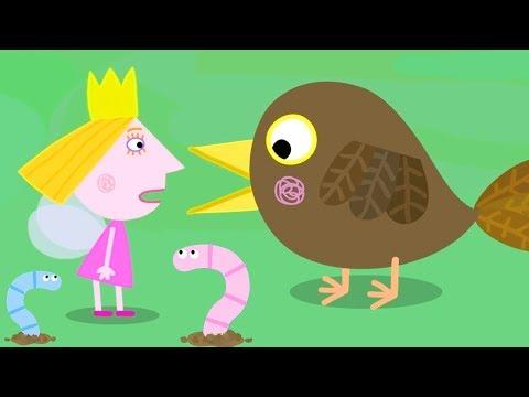Ben y Holly - El pájaro carpintero - Dibujos Animados