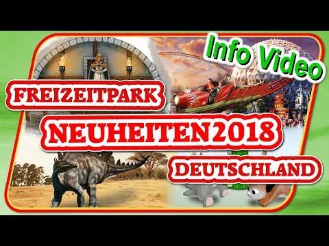 Freizeitpark Neuheiten 2018 in Deutschland