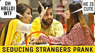 CUTE GIRL STARING AT STRANGERS | PRANK IN PAKISTAN