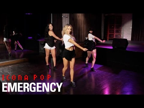 Icona Pop - Emergency (Dance Tutorial)