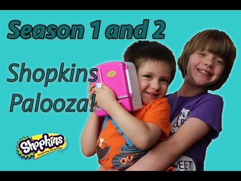 Shopkins Palooza (Season 1 and 2)- Day 718 | ActOutGames