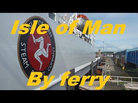 Heysham To Isle Of Man Ferry Trip On MS Ben My Chree