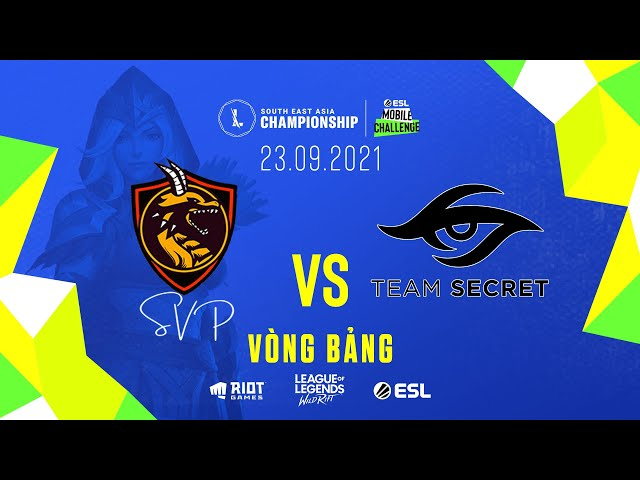 SVP vs TS l Vòng Bảng - Ngày 1 SEA Championship (23.09.2021)