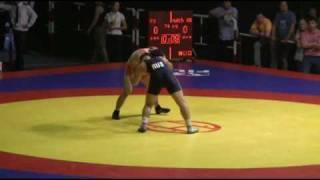 74 кг. Гедуев - Муртазалиев, Чемпионат России-2010.