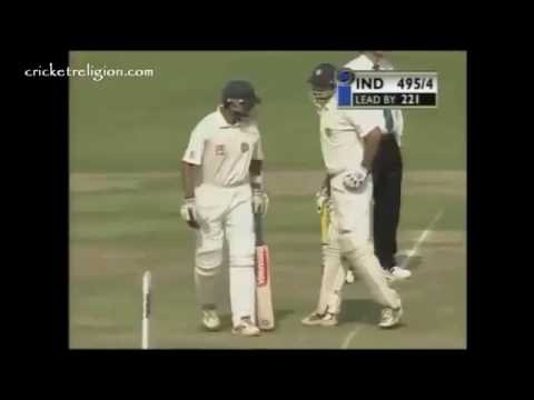 VVS Laxman And Rahul Dravid 376 Run Partnership Vs Australia   Kolkata 2001