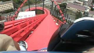 Eejanaika Roller Coaster POV - Fuji Q Highland Japan thumbnail