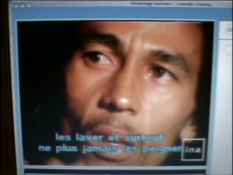 Bob Marley tells how he made his dreads.