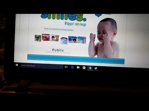 New Printable September Publix Baby Book, How to print coupons from it