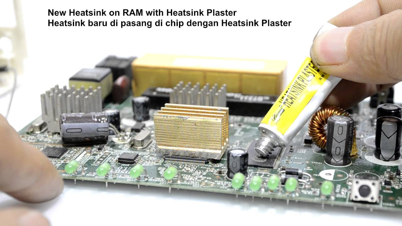 Heatsink Plaster Star 922 Thermal Glue Youtube Circuit Works Conductive Epoxy