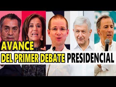 Avance del Primer Debate Presidencial entre los aspirantes a la presidencia de México!