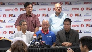 Gilas Pilipinas' 20-man roster for the 5th window of the FIBA World Cup Asian Qualifiers