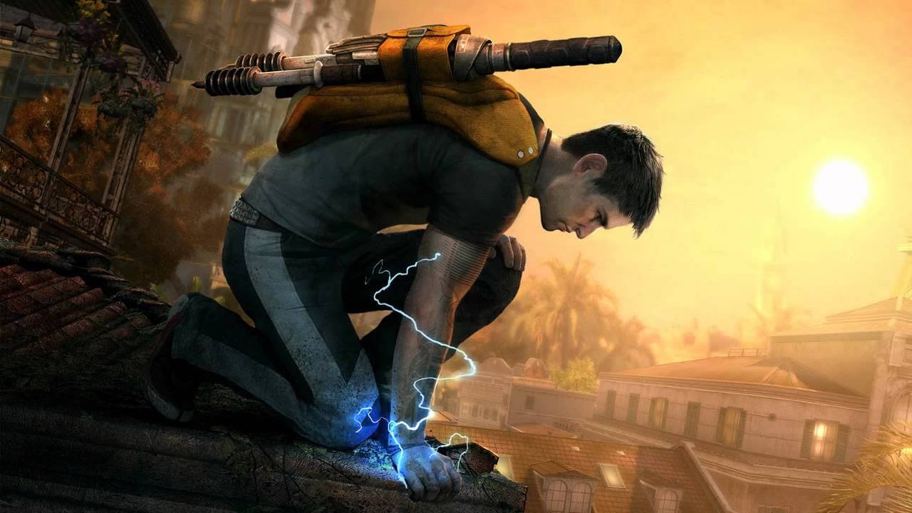 InFamous 2: The Blue Soundtrack - [Track 1/23] - Cole MacGrath - YouTube