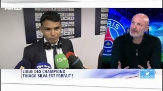 60 minutes sport – Lebœuf : ''L'absence de Thiago Silva est préjudiciable au PSG''