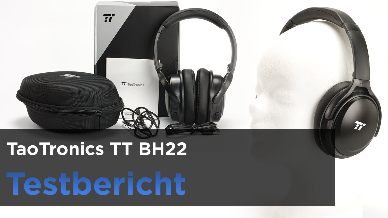 868c3d2f9c9 TaoTronics TT BH22 im Test - Preiswerter Bluetooth-Kopfhörer mit ...