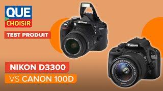 Nikon D3300 vs Canon 100D - Quel reflex d'entrée-de-gamme choisir ?