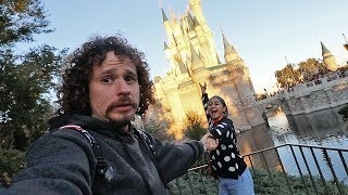 My girlfriend insisted to travel here...| Disney
