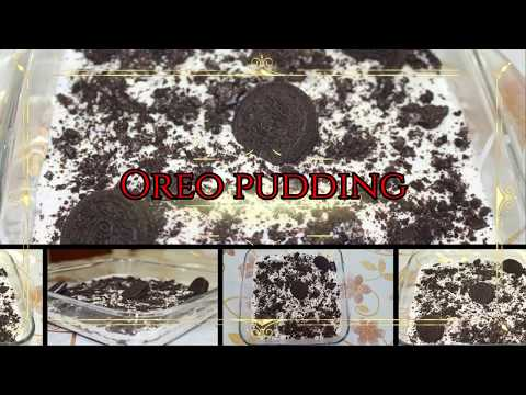 Simple And Easy Oreo Pudding Cake Recipe.