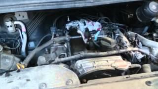 Крыса свила гнездо под капотом автомобиля над двигателем
