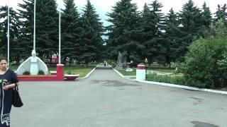 Санаторий Виктория г.Ессентуки - территория(Санаторий
