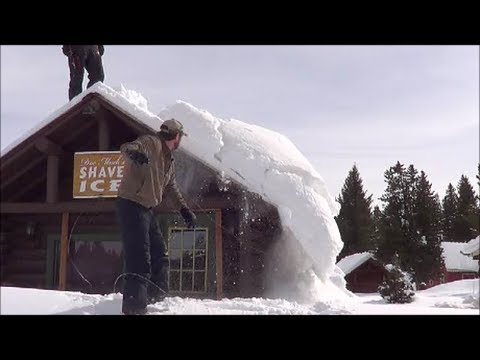 Wiring Snow Off A Roof Youtube