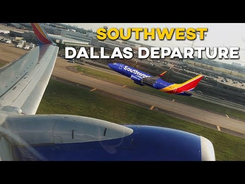 Southwest 737-700 Dallas Love Field Departure