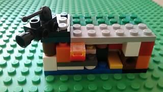 Как сделать мини сейф из лего с нуля (#1)