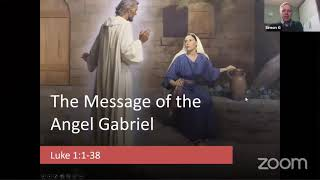 The message of the Angel Gabriel