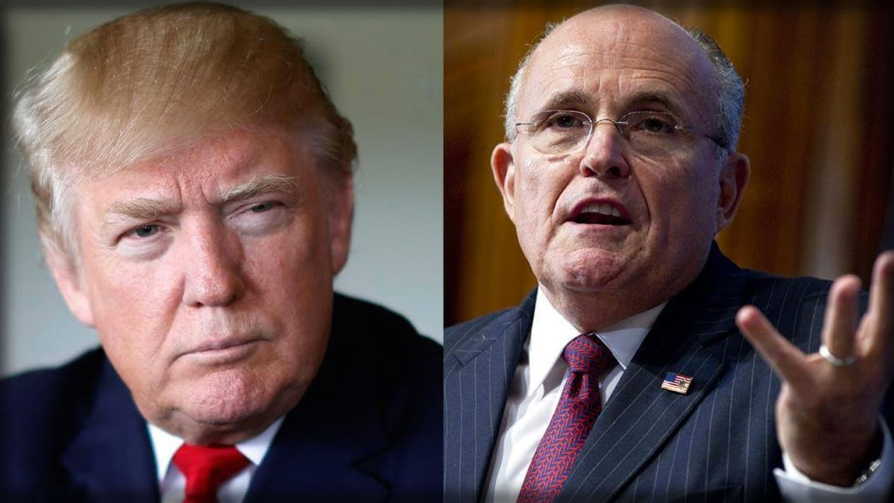 textual analysis of rudy giulianis speech By election day, a concession speech had been drafted by a campaign official eric and don jr had eyes toward the grand opening of the trump international hotel washington, dc, and a forthcoming property in vancouver.