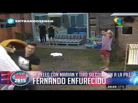 Gran Hermano 2015: Después de enloquecer a Nico, Marian enfurece a Fernando