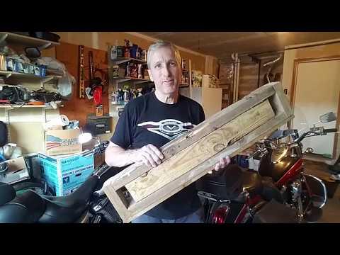 DIY motorcycle jack for Kawasaki Voyager & 900