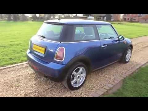 2008 Mini One Lightning Blue For Sale Youtube