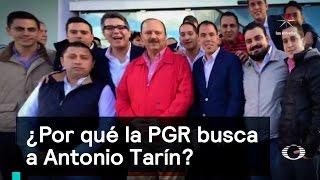 ¿Por qué la PGR busca a Antonio Tarín? - Corrupción - Denise Maerker 10 en punto thumbnail