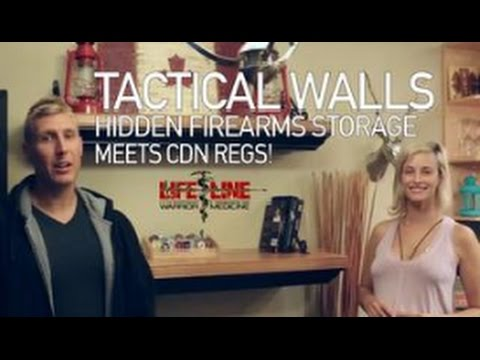 Tactical Walls: Canadian Legal Gun Safe