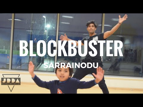 BLOCKBUSTER | SARRAINODU song | ALLU ARJUN...