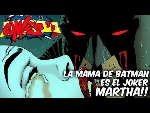 La Mama de Batman es el JOKER, Comic Narrado FLASH POINT PARADOX Batman el caballero de la venganza
