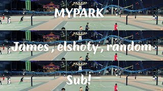 UNBELIEVABLE AT THE PARK!! ....NBA 2K17