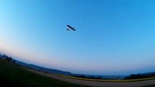 FPV Raptor Frankenstein Mod - evening chillout flying with some brown pants moments