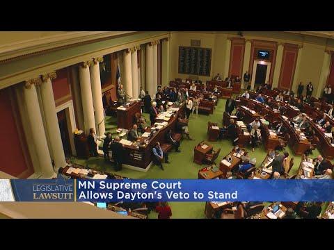 Minnesota Supreme Court Rules In Dayton's Favor Over Budget Veto