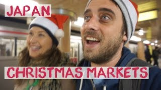 Broke In Japan   Best Christmas Market Ever! Tokyo - Japan Vlog