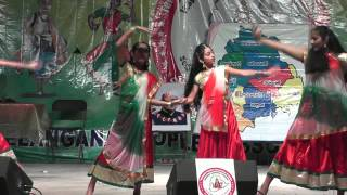 Shanti Nuthi students perform to Pardes song