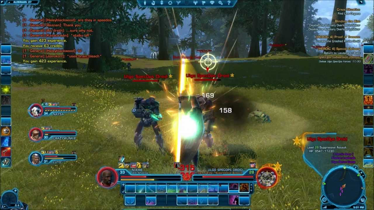 Star Wars The Old Republic Gameplay Mmo Adventures Series Part