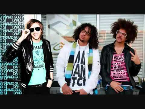 David Guetta feat  Lmfao im in Miami Beach   YouTube