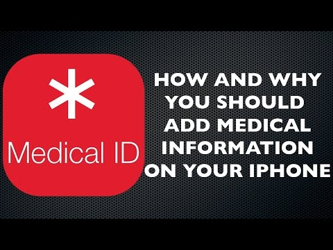 How to Add Emergency Medical Info to Your iPhone