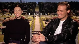 Outlander's Sam Heughan and Caitriona Balfe Play If/Then