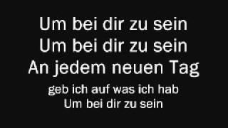 Christina Stürmer - Um Bei Dir Zu Sein (Lyrics & English Translation)
